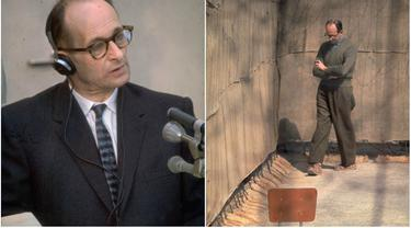 Petinggi Nazi, Adolf Eichmann diyakini sebagai salah satu arsitek Holocaust