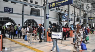 Pembatasan Perjalanan Kereta Api selama PPKM Darurat