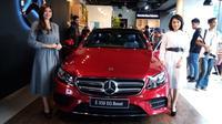New Mercedes-Benz E 350 EQ Boost resmi diluncurkan. (Dian Tami / Liputan6.com)