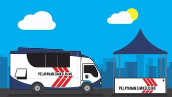5 Lokasi SIM Keliling di Jakarta Hari Ini, Sabtu 25 September 2021