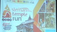 Sleman Temple Run 2019 akan digelar di Candi Banyunibo pada 14 Juli mendatang. (Liputan6.com /Switzy Sabandar)