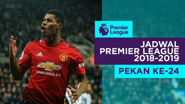 Berita video jadwal Premier League 2018-2019 pekan ke-24. Manchester united menjamu Burnley di Old Trafford, Manchester.