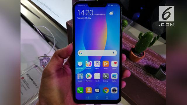 Menjajal Huawei Nova 3i Smartphone Trendi Dengan Teknologi Ai