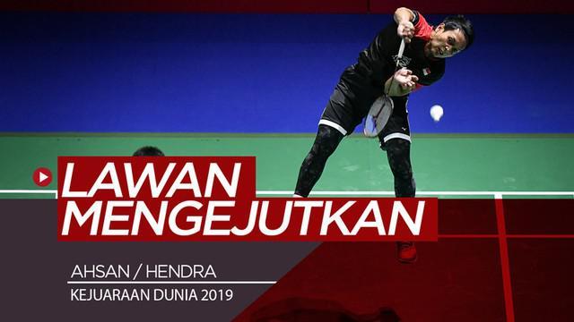 Berita video lawan Mohammad Ahsan / Hendra Setiawan di final Kejuaraan Dunia 2019, Takuro Hoki / Yugo Kobayashi mengejutkan pada partai semifinal dengan mengalahkan unggulan kedua kompetisi.
