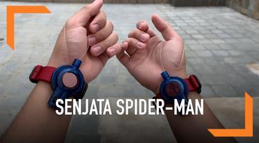 Penggemar Spider-Man bisa mempunyai senjata khas super hero tersebut. Senjata yang dijual Rp 1,9 juta ini bisa mengeluarkan jaring yang lengket.