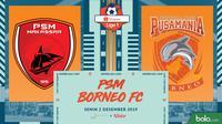 Shopee Liga 1 - PSM Makassar Vs Borneo FC (Bola.com/Adreanus Titus)