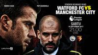 Watford vs Manchester City (Liputan6.com/Abdillah)