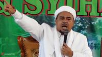 Imam Besar FPI Rizieq Shihab.