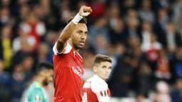 1. Pierre-Emerick Aubameyang (Arsenal) - 2 Gol. (AFP/Ian Kington)