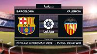 La Liga: Barcelona Vs Valencia (Bola.com/Adreanus Titus)