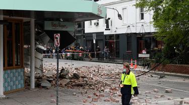 Gempa mengguncang Australia