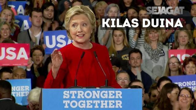 Delapan hari jelang pilpres AS, masing-masing kandidat lakukan kampanye untuk memaksimalkan dukungan.