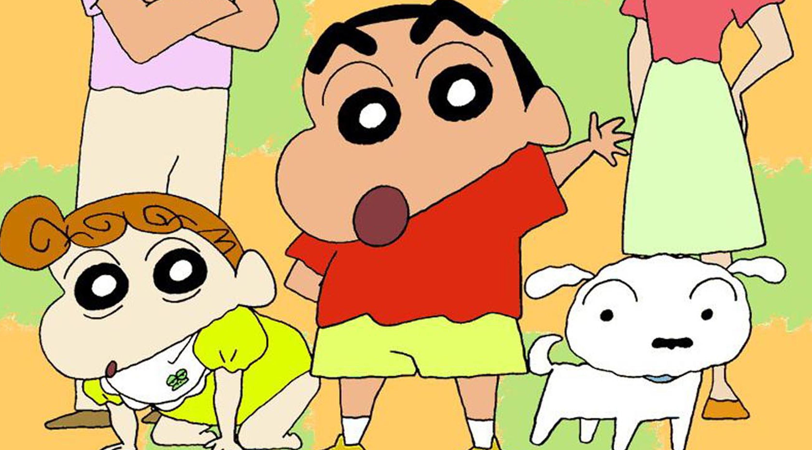 Beberapa adegan di cerita Shin-chan saat masih TK yang memperhatikan wanita berpakaian seksi dengan belahan dada terbuka. Hal itu dinilai tak pantas dijadikan tontonan oleh anak-anak. (wfiles.brothersoft.com)