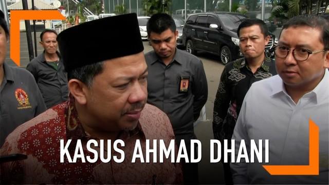Fahri Hamzah mendesak Presiden Jokowi untuk segera mengambil langkah darurat terkait kasus Ahmad Dhani.