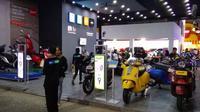 Vespa menawarkan promo menarik selama Jakarta Fair Kemayoran 2019. (Otosia.com)