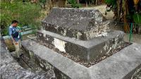 Makam Raja Blongkod atau dikenal dengan Bulonggodu hingga kini masih memiliki cerita misteri. (Liputan6.com/Arfandi Ibrahim)