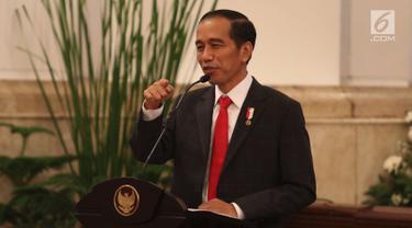 Jokowi Gelar Silaturahmi dengan Penerima KIS dan JKN di Istana Negara