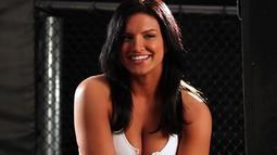 Gina Joy Carano merupakan merupakan atlet mixed martial art yang berasal dari Texas, Amerika Serikat. (www.pinterest.com)
