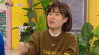 Komedian Park Ji Sun saat tampil di acara Happy Together. (Tangkapan Layar YouTube/  KBS World)