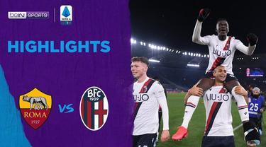 Berita Video Highlights Serie A, AS Roma Vs Bologna 2-3