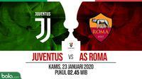 Coppa Italia: Juventus vs AS Roma. (Bola.com/Dody Iryawan)