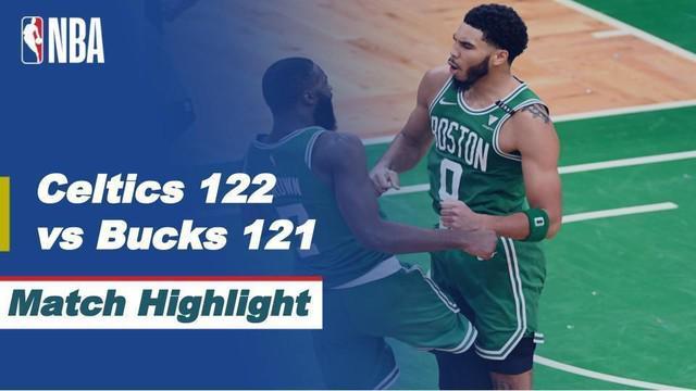 Berita video, Boston Celtics menang tipis atas Milwaukee Bucks di laga perdana NBA 2020/2021