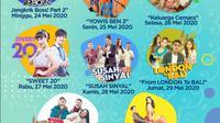 Deretan film layar lebar spesial Lebaran di SCTV 2020, jam tayang 19.30 WIB