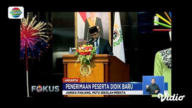 Terkait karut marut PPDB 2019, Gubernur DKI Jakarta Anies Baswedan mengatakan sistem zonasi dapat meningkatkan mutu sekolah serta siswa akan memiliki standard yang sama.