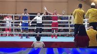 Petinju Indonesia, Kornelis Langu lolos ke final SEA Games 2019 cabor tinju. (Dok. PB Pertina)