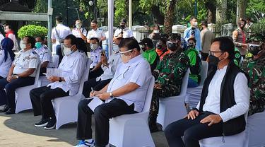 Wali Kota Bogor Bima Arya bersama Menteri Perhubungan (Menhub) Budi Karya Sumadi