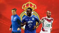 Liga 1 - Eero Markkanen, Michael Essien, Julien Faubert (Bola.com/Adreanus TItus)