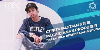 Bastian Steel ceritakan kisah serunya saat berpacaran dengan anak produser di film garapan Raffi Ahmad ini.
