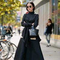 Outfit satu tone. (Foto: instagram.com/thestylestalker)