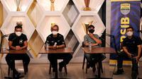 Manajemen Persib Bandung meluncurkan program Sampurasun Bobotoh, Selasa (16/3/2021). (Foto: MO Persib)