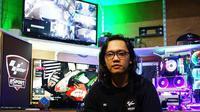 Gamer Indonesia, Putut Maulana yang memberikan tips kepada Alex Marquez. (Instagram/Putut Maulana)