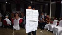 Suasana di TPS 62, Kebagusan, Jakarta Selatan, tempat Ketua Umum PDIP Megawati Soekarnoputri mencoblos usai penghitungan suara, Rabu (17/4/2019). (Liputan6.com/Nafiysul Qodar)