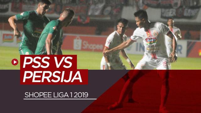 Berita video highlights laga sengit di Shopee Liga 1 2019 antara PSS Sleman melawan Persija Jakarta pada pekan ke-24.