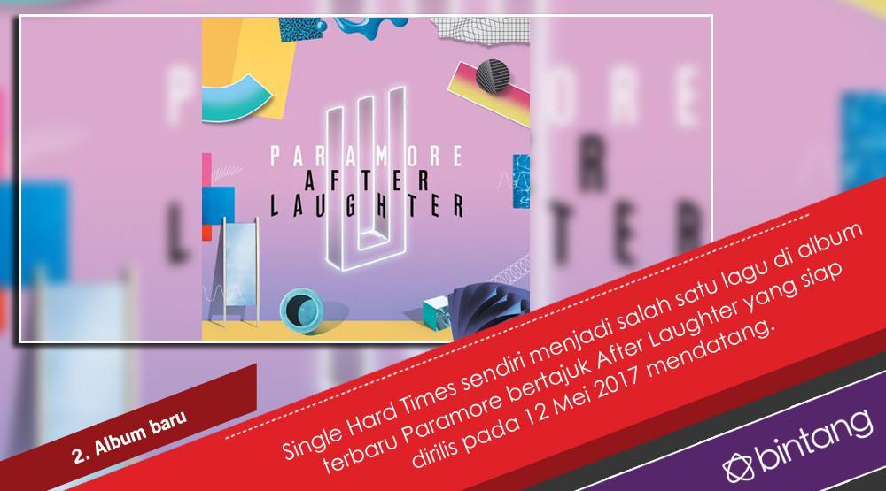 Paramore, Penantian 4 Tahun dan Comeback Penuh Warna. (Foto: Twitter/zacfarro, Desain: Nurman Abdul Hakim/Bintang.com)