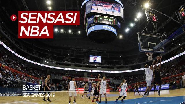 Berita video jurnalis, Zulfirdaus Harahap, dan fotografer M. Iqbal Ichsan, dari Bola.com merasakan sensasi menonton basket seperti pertandingan NBA di SEA Games 2019.
