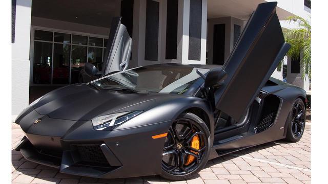 Lamborghini Aventador LP700-4 Black. (Youtube)