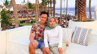 Muzdalifah dan Fadel Islami saat di Bali (Sumber: Instagram/muzdalifah999)