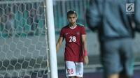 Pemain sayap Indonesia U-23, M Rezaldi Hehanusa  (Liputan6.com/Helmi Fithriansyah)