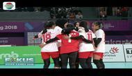 Tim Voli Putri Indonesia Menang dari Hongkong 3-1 (Fokus Pagi)