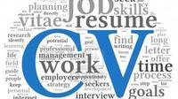 Seleksi Curriculum Vitae (CV) atau resume adalah tahap penilaian pertama sebuah perusahaan terhadap Anda, para pencari kerja.