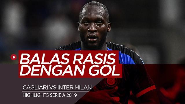 Berita Video Mendapat Perlakuan Rasis, Lukaku Balas Lewat Gol dan Menangkan Inter Milan