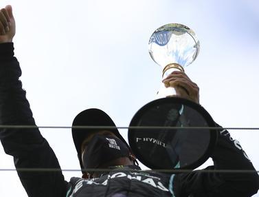FOTO: Juara F1 GP Eifel 2020, Lewis Hamilton Samai Rekor Michael Schumacher