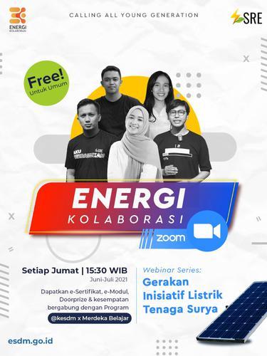 Dorong Pemanfaatan Energi Baru Terbarukan, ESDM Ajak Generasi Muda Ikut Gerakan Inisiatif Listrik Tenaga Surya