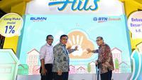 Unit Usaha Syariah PT Bank Tabungan Negara (Persero) Tbk atau BTN meluncurkan produk baru yaitu Pembiayaan Properti BTN iB. Dok BTN