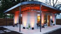 Rumah yang dibangun dengan teknologi 3D Printing. (Foto: Ufunk.net)