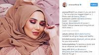 Siapa hijaber pertama yang menjadi bintang iklan brand L'Oreal Paris di Inggris? (Foto: instagram @amenaofficial)